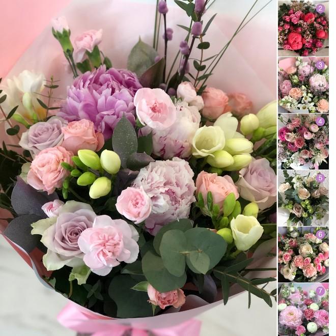 gėlės į namus Kaune