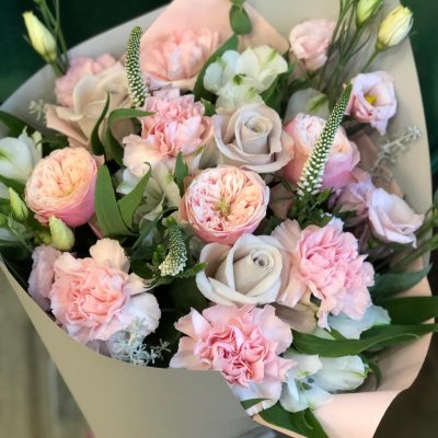 gėlės jubiliejaus proga